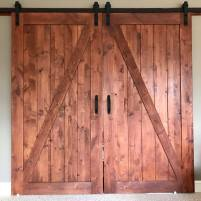 Finished Barn Doors
