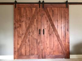 Finished Barn Doors