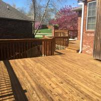Deck Cleaned & Stained