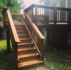 Stained/Sealed Deck