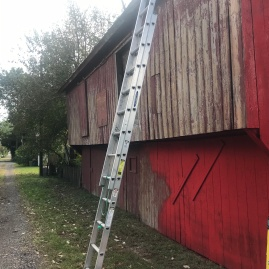 Painting Historic Barn