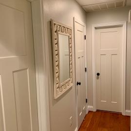 Painted Hallway & Trim