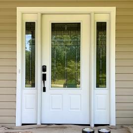 Unpainted Door (Before)