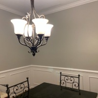 Dining Room Painted